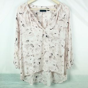 Cynthia Rowley | 3/4 Sleeve Top Large